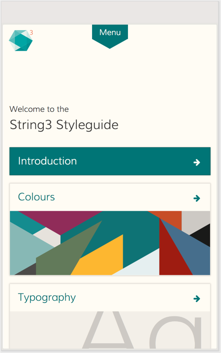 The String3 styleguide